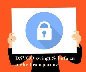 DSVGO zwingt Schufa zu kostenloser Schufaabfrage