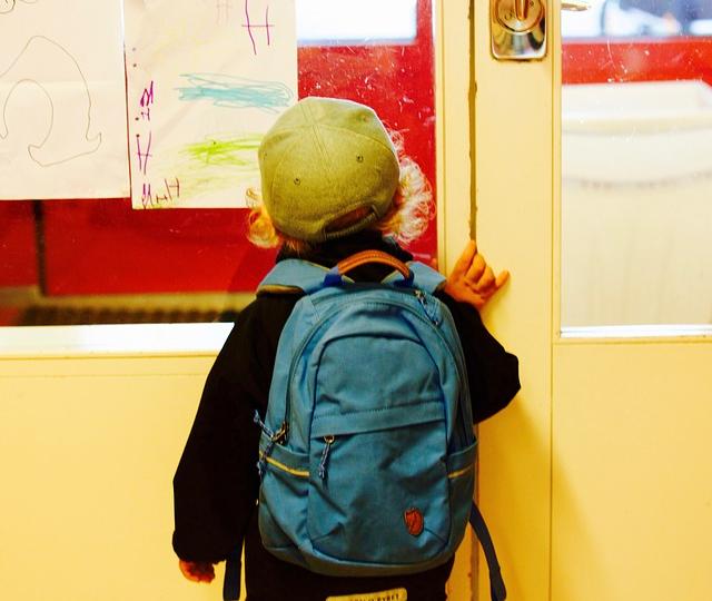 Rucksack für den Kindergarten
