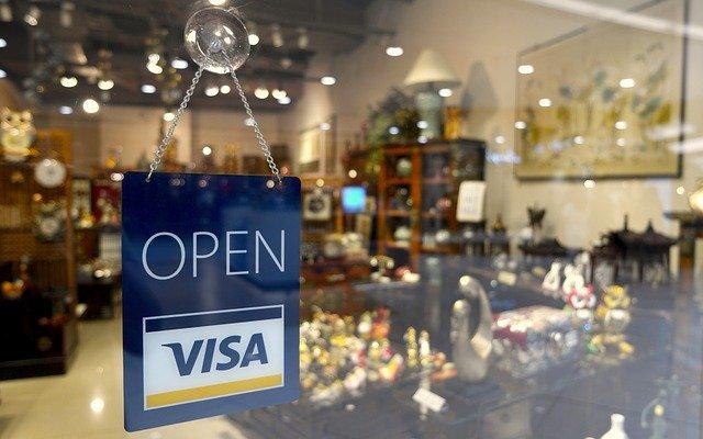 Kreditkarte Geschäft