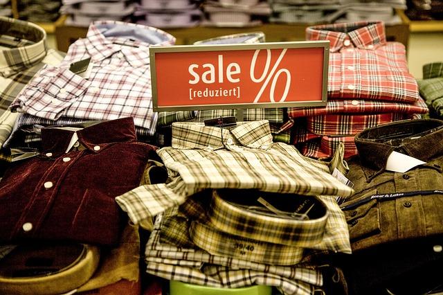Sale-Einkauf