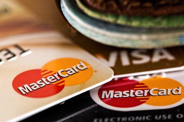 MasterCard und VISA Karte