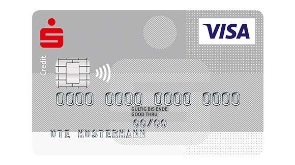 VISA Silber Kreditkarte